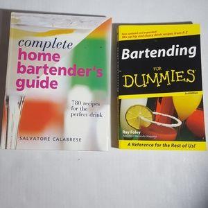 Bartender Books 🥂 2 book bundle 🍻